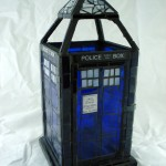 This TARDIS Stained Glass Lantern is Fantastic! [pic]