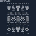This Doctor Who Winter Sweatshirt is Actually a T-Shirt and $10 TODAY ONLY! [pic]