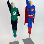 Green Lantern and Superman Made from LEGOs [pic]