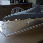This Amazing Imperial Star Destroyer Cake Even Lights Up! [pics + video]