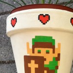 Legend of Zelda Flower Pot [pics]