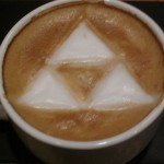 Legend of Zelda Triforce Latte Art [pic]