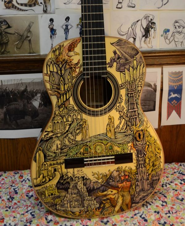 Lord of the Rings Guitar