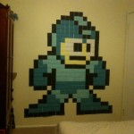 Mega-Man Made From Post-It Notes [pic]