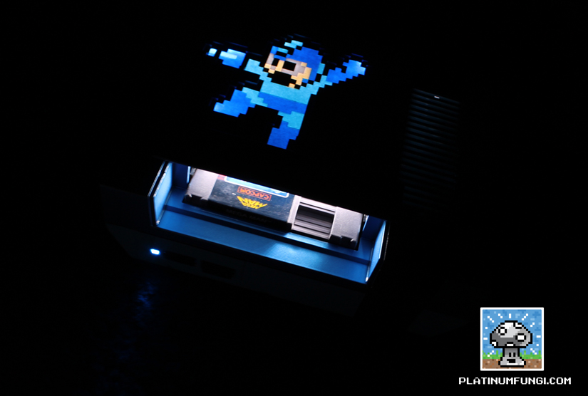 Mega Man NES Console Mod In The Dark