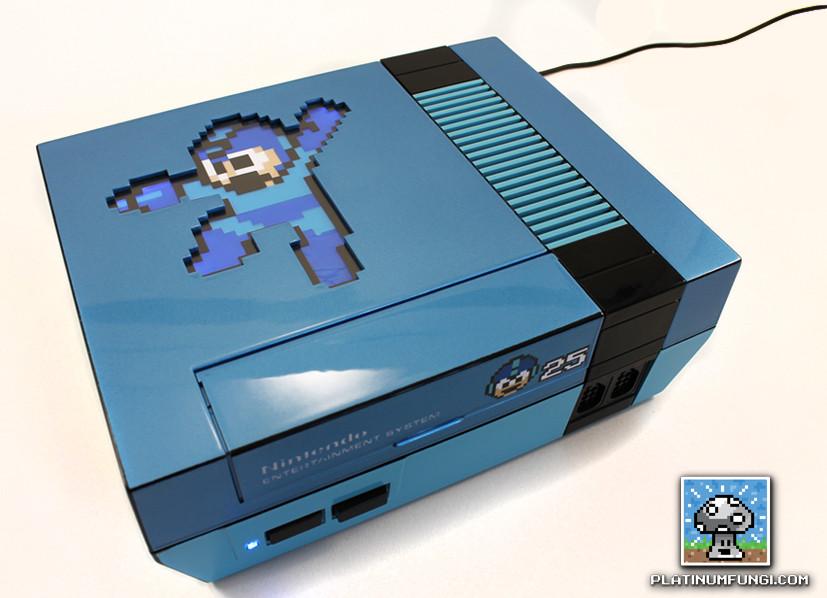 Mega Man NES Console Mod