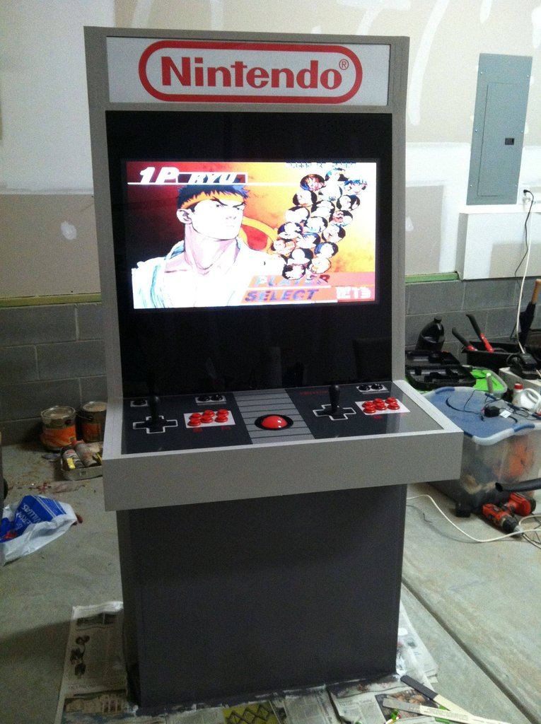 I Want This Nintendo Themed Arcade Cabinet! [pic] - Global Geek News