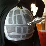 Pregnant Woman in Death Star Cosplay [pic]