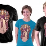 This Princess Zelda Nouveau Shirt is Awesome! [pic]