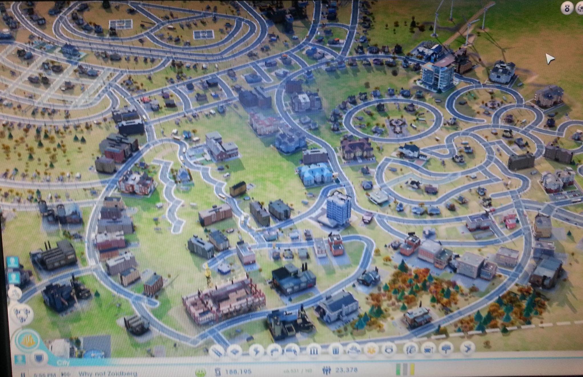 Sim City Futurama