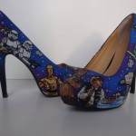 Awesome Hand-Painted Star Wars High Heel Shoes [pics]