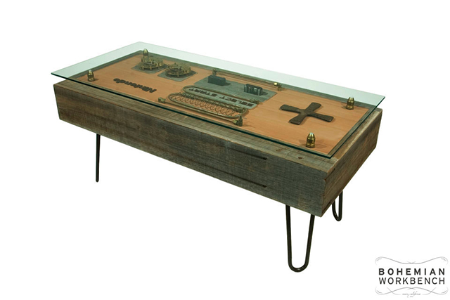 Steampunk NES Controller Table