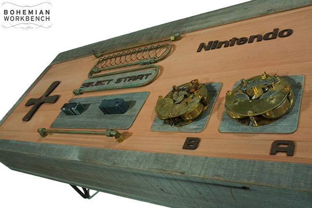 Steampunk NES Coffee Table
