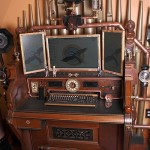 Amazing Steampunk Computer and Desk [pic]