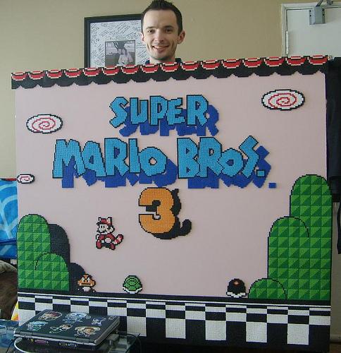Super Mario Bros Beads