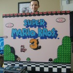 Giant Super Mario Bros 3 Start Screen Made With Beads [pics]