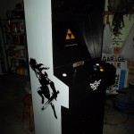 Custom Arcade Cabinet for playing Super Nintendo Games [pics]