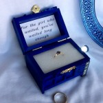 The TARDIS Engagement Ring Box For The Girl Who Waited [pic]