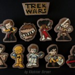 When Star Trek Meets Star Wars Delicious Cookies Are Made [pic]