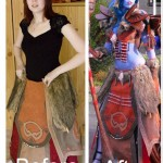 World of Warcraft Cosplay:  Before and After [pic]