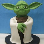 This Yoda Cake Looks Happy for You to Eat Him [pic]