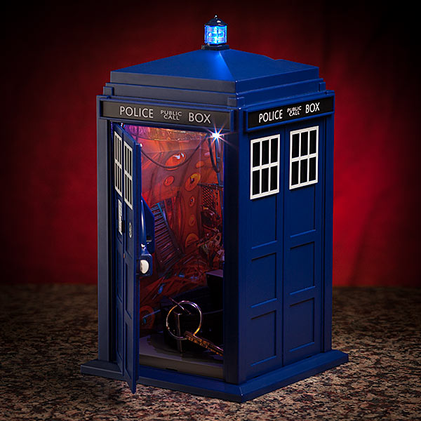 Doctor Who Smart Safe Inside