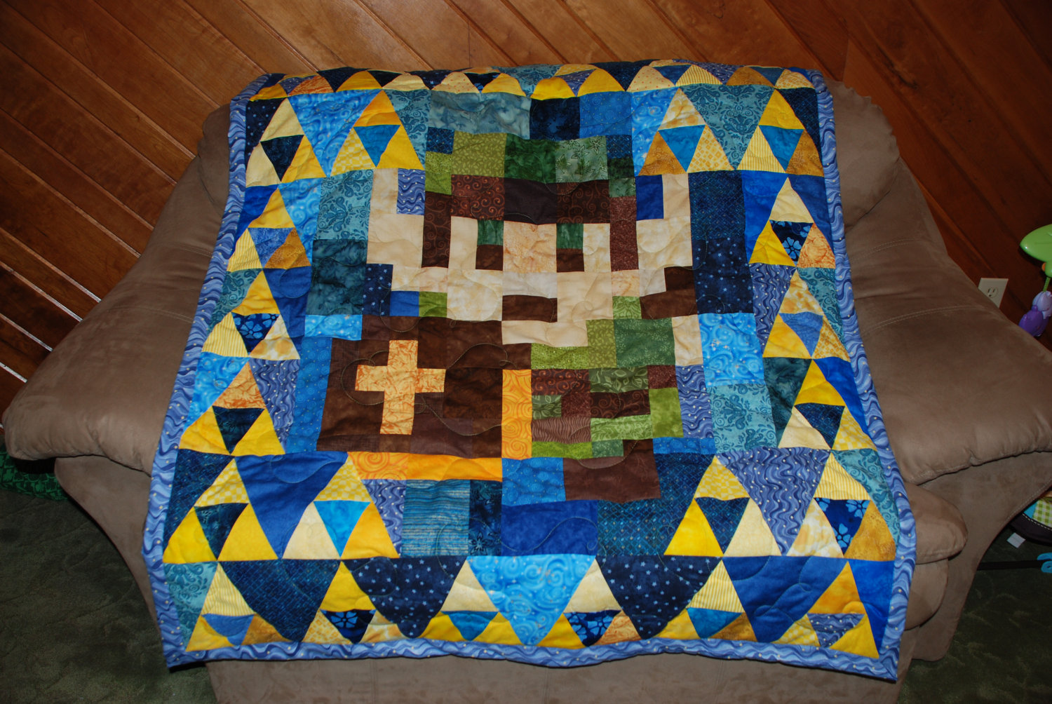 Legend of Zelda Link Quilt