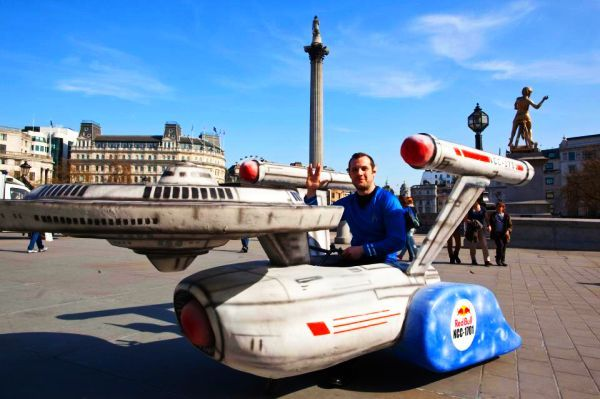 USS Enterprise Soapbox Car