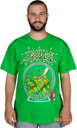 TMNT Turtle Power T-Shirt