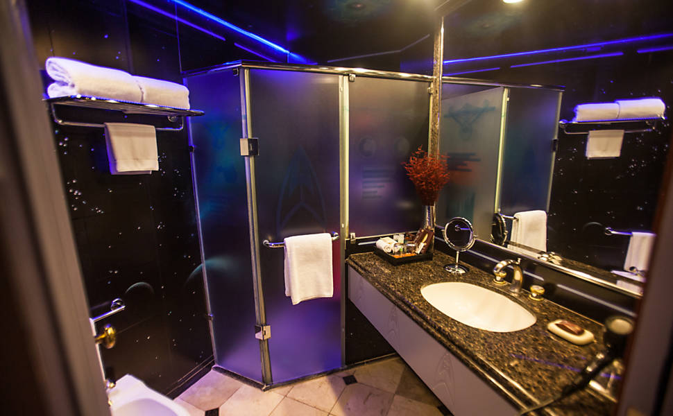 Star Trek Hotel Bathroom