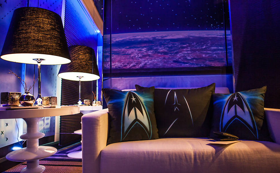 Star Trek Hotel Lounge