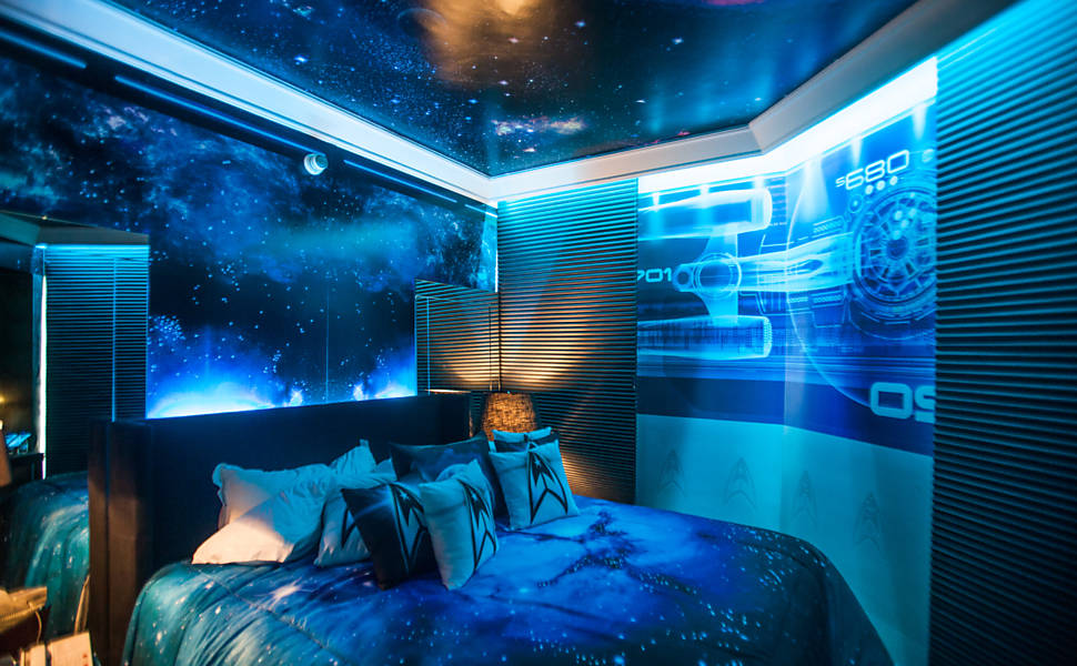 Star Trek Hotel Bedroom