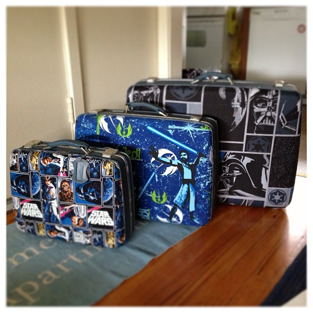 Star Wars Suitcases