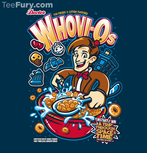 Whovi-Os Cereal T-Shirt