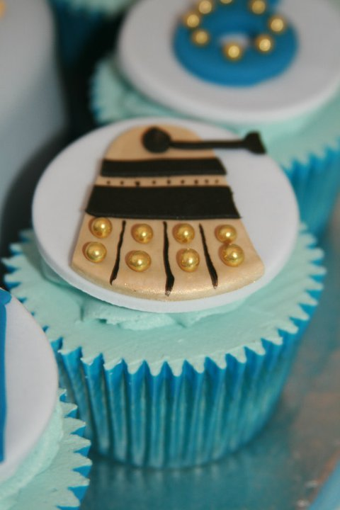 Doctor Who Dalek Cupcake