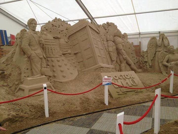 Doctor Who Sand Sculpture