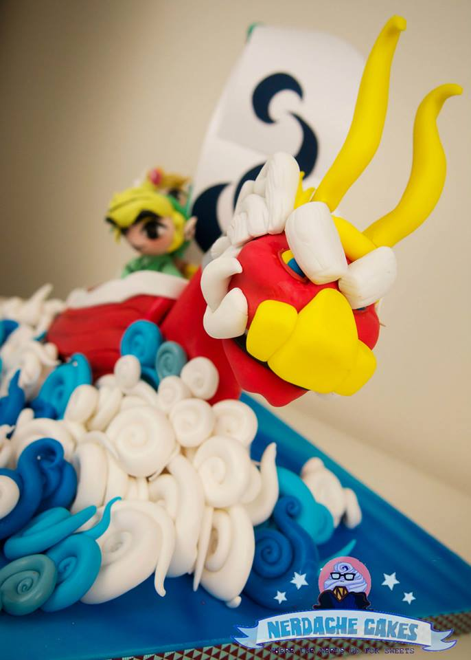 Legend of Zelda Wind Waker Cake Ship