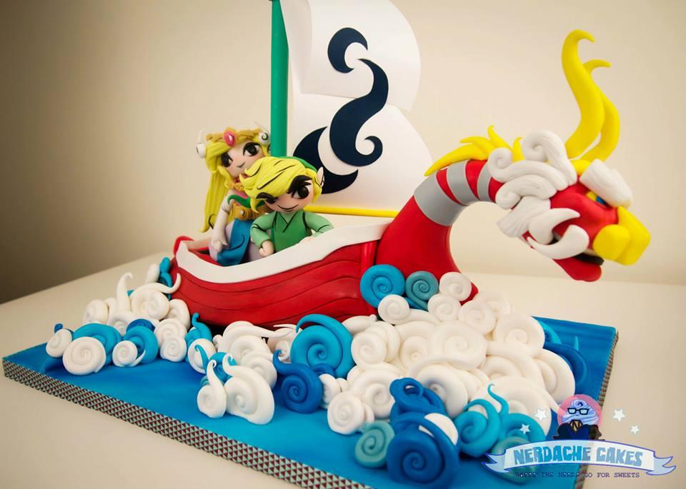 Wind Waker Cake