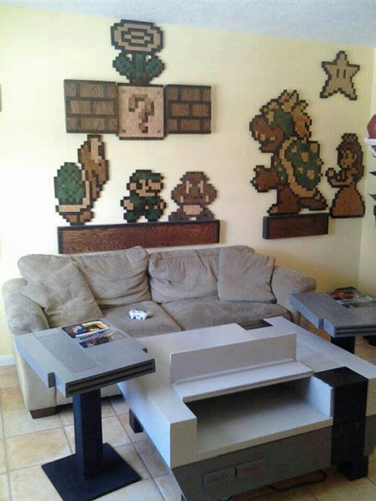 Nintendo NES Living Room