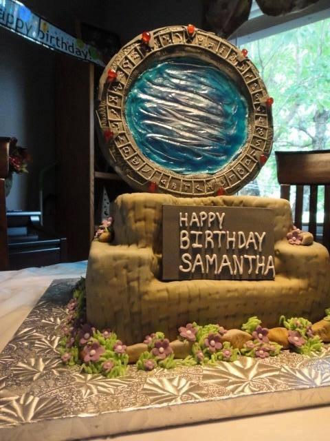 Stargate SG-1 Cake