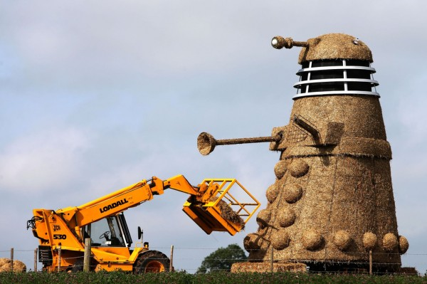Doctor Who Straw Dalek