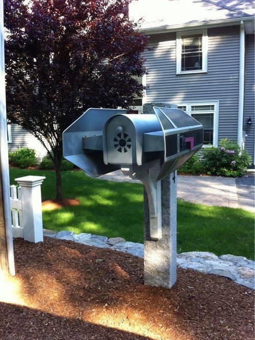 Tie Bomber Mailbox