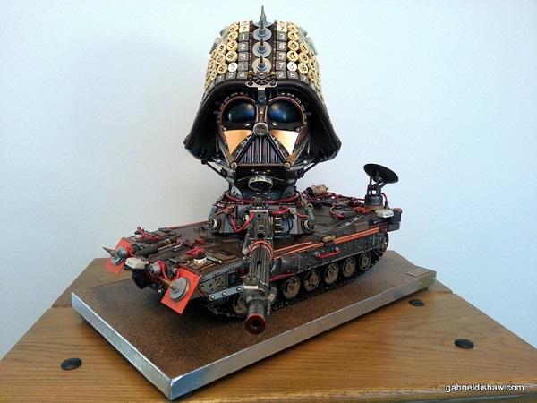 Darth Vader Steampunk Tank
