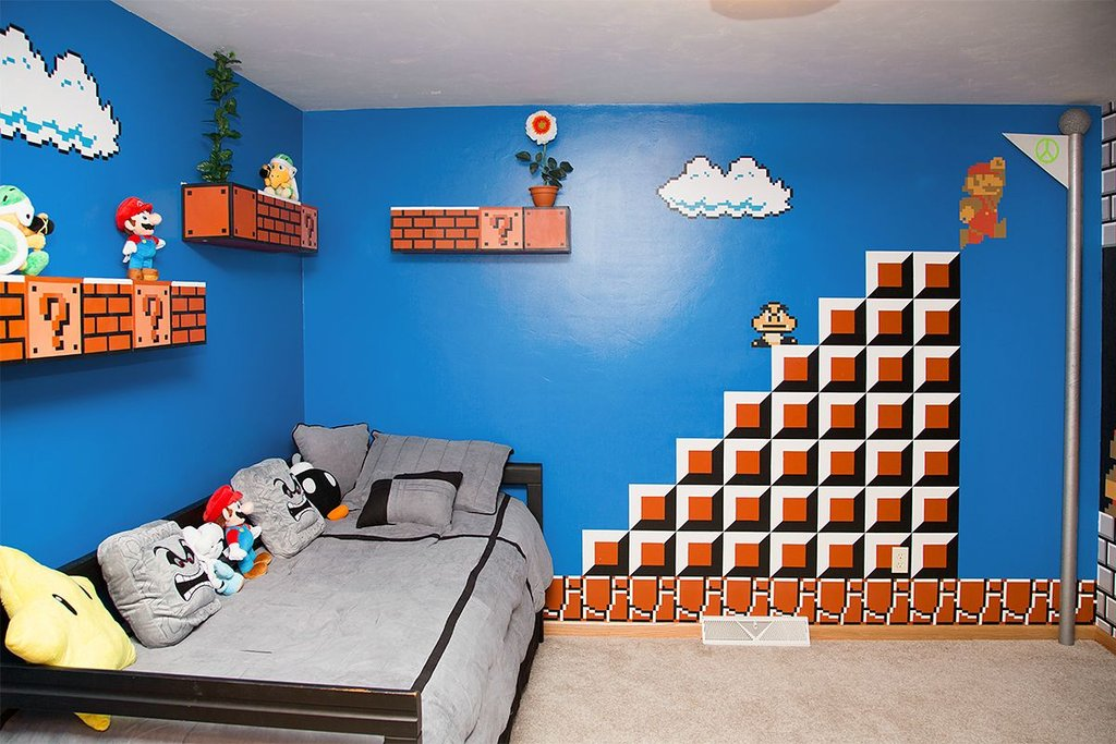 Super Mario Bros Room