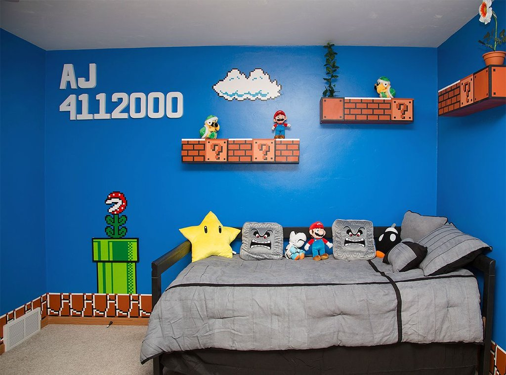 Super Mario Bros Bedroom Theme