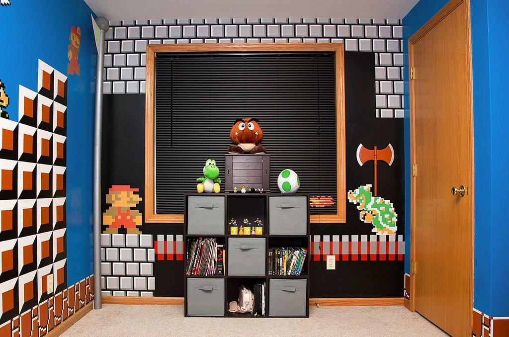 Super Mario Bros Bedroom