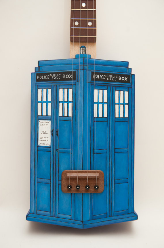 Doctor Who TARDIS Ukulele
