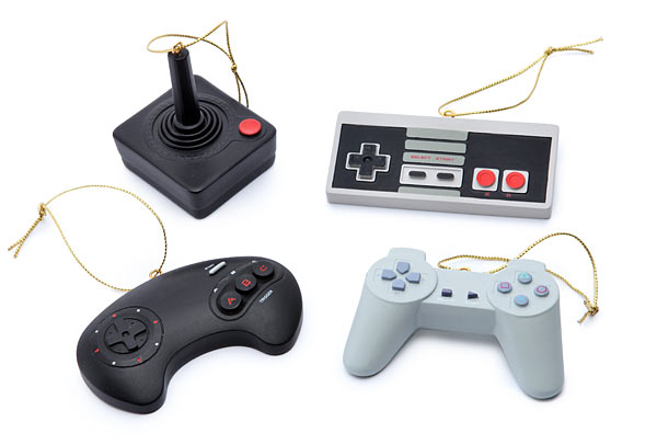 Video Game Controller Christmas Ornaments