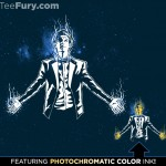 Doctor Who Matt Smith Regeneration Tee w/ Photochromatic Ink Just $11 Today!
