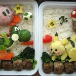Awesome Nintendo Bento Box Featuring Kirby, Yoshi, Pikachu and More!